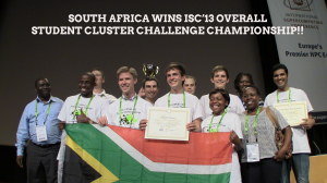 South africa wins
