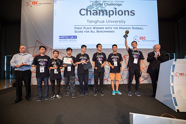 Tsinghua Powers Through ISC'18 Field